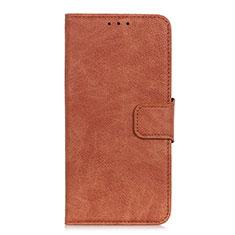 Coque Portefeuille Livre Cuir Etui Clapet L05 pour Google Pixel 4 XL Marron