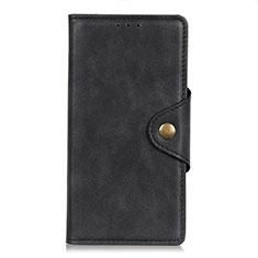 Coque Portefeuille Livre Cuir Etui Clapet L05 pour HTC Desire 19 Plus Noir