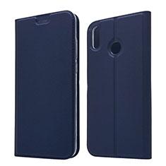 Coque Portefeuille Livre Cuir Etui Clapet L05 pour Huawei Honor V10 Lite Bleu