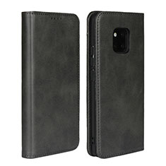 Coque Portefeuille Livre Cuir Etui Clapet L05 pour Huawei Mate 20 Pro Noir