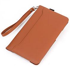 Coque Portefeuille Livre Cuir Etui Clapet L05 pour Huawei MatePad 10.4 Orange