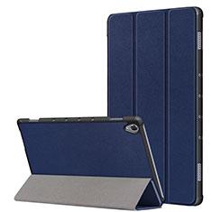 Coque Portefeuille Livre Cuir Etui Clapet L05 pour Huawei MatePad 10.8 Bleu
