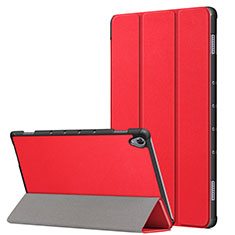 Coque Portefeuille Livre Cuir Etui Clapet L05 pour Huawei MatePad 10.8 Rouge
