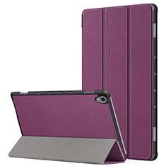 Coque Portefeuille Livre Cuir Etui Clapet L05 pour Huawei MatePad 10.8 Violet