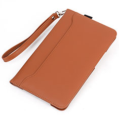 Coque Portefeuille Livre Cuir Etui Clapet L05 pour Huawei MatePad 5G 10.4 Orange