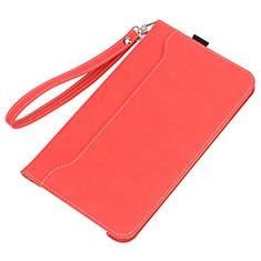 Coque Portefeuille Livre Cuir Etui Clapet L05 pour Huawei MatePad 5G 10.4 Rouge