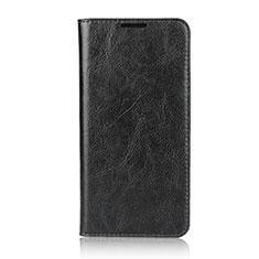 Coque Portefeuille Livre Cuir Etui Clapet L05 pour Huawei Nova 4e Noir