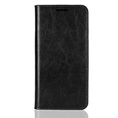 Coque Portefeuille Livre Cuir Etui Clapet L05 pour Huawei P20 Lite Noir