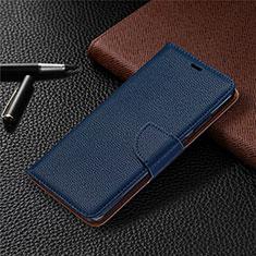 Coque Portefeuille Livre Cuir Etui Clapet L05 pour Nokia 5.3 Bleu
