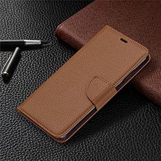 Coque Portefeuille Livre Cuir Etui Clapet L05 pour Nokia 5.3 Marron