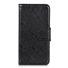 Coque Portefeuille Livre Cuir Etui Clapet L05 pour OnePlus 7T Pro Noir