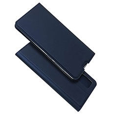 Coque Portefeuille Livre Cuir Etui Clapet L05 pour Samsung Galaxy A51 4G Bleu