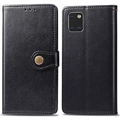 Coque Portefeuille Livre Cuir Etui Clapet L05 pour Samsung Galaxy A81 Noir