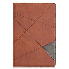 Coque Portefeuille Livre Cuir Etui Clapet L05 pour Samsung Galaxy Tab S5e 4G 10.5 SM-T725 Marron