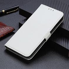 Coque Portefeuille Livre Cuir Etui Clapet L05 pour Sharp AQUOS Sense4 Plus Blanc