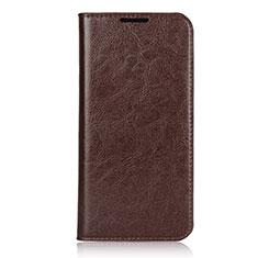 Coque Portefeuille Livre Cuir Etui Clapet L05 pour Xiaomi Redmi Note 7 Pro Marron