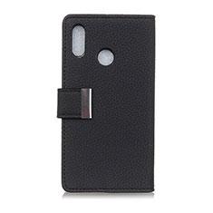 Coque Portefeuille Livre Cuir Etui Clapet L06 pour Asus Zenfone 5 ZE620KL Noir