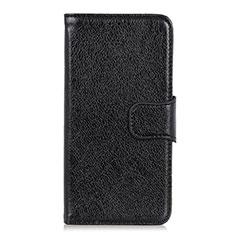 Coque Portefeuille Livre Cuir Etui Clapet L06 pour Asus Zenfone Max Plus M2 ZB634KL Noir