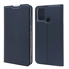 Coque Portefeuille Livre Cuir Etui Clapet L06 pour Huawei Honor 9A Bleu