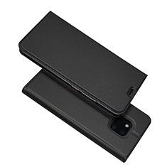 Coque Portefeuille Livre Cuir Etui Clapet L06 pour Huawei Mate 20 Pro Noir