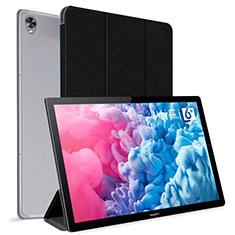 Coque Portefeuille Livre Cuir Etui Clapet L06 pour Huawei MatePad 10.8 Noir