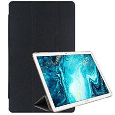 Coque Portefeuille Livre Cuir Etui Clapet L06 pour Huawei MediaPad M6 10.8 Noir