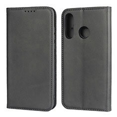 Coque Portefeuille Livre Cuir Etui Clapet L06 pour Huawei Nova 4e Noir