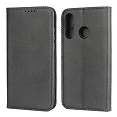 Coque Portefeuille Livre Cuir Etui Clapet L06 pour Huawei P30 Lite Noir