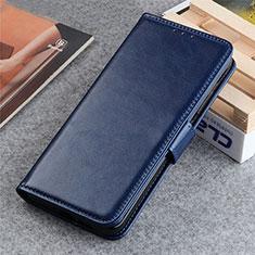 Coque Portefeuille Livre Cuir Etui Clapet L06 pour LG K22 Bleu