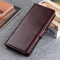 Coque Portefeuille Livre Cuir Etui Clapet L06 pour LG K22 Marron