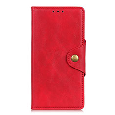 Coque Portefeuille Livre Cuir Etui Clapet L06 pour LG K52 Rouge