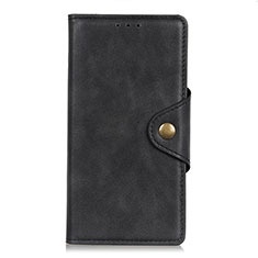 Coque Portefeuille Livre Cuir Etui Clapet L06 pour LG K62 Noir