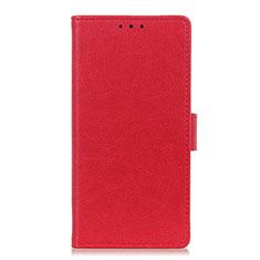 Coque Portefeuille Livre Cuir Etui Clapet L06 pour Motorola Moto G Pro Rouge