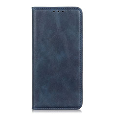 Coque Portefeuille Livre Cuir Etui Clapet L06 pour Realme 7i Bleu