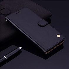 Coque Portefeuille Livre Cuir Etui Clapet L06 pour Samsung Galaxy M21s Noir