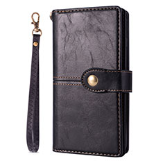 Coque Portefeuille Livre Cuir Etui Clapet L06 pour Samsung Galaxy S20 5G Noir