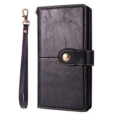 Coque Portefeuille Livre Cuir Etui Clapet L06 pour Samsung Galaxy S20 Ultra 5G Noir