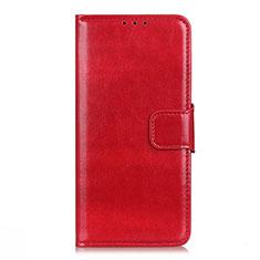 Coque Portefeuille Livre Cuir Etui Clapet L06 pour Xiaomi Mi 10i 5G Rouge