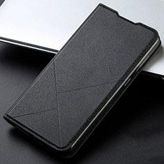 Coque Portefeuille Livre Cuir Etui Clapet L06 pour Xiaomi Poco X2 Noir