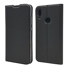 Coque Portefeuille Livre Cuir Etui Clapet L06 pour Xiaomi Redmi Note 7 Pro Noir