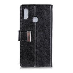 Coque Portefeuille Livre Cuir Etui Clapet L07 pour Asus Zenfone 5 ZE620KL Noir