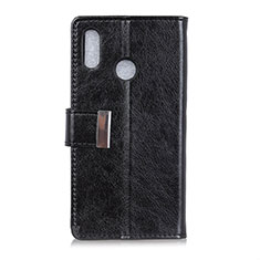 Coque Portefeuille Livre Cuir Etui Clapet L07 pour Asus Zenfone 5 ZS620KL Noir