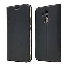 Coque Portefeuille Livre Cuir Etui Clapet L07 pour Huawei Mate 20 Lite Noir