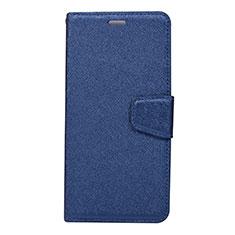 Coque Portefeuille Livre Cuir Etui Clapet L07 pour Huawei Mate 20 Pro Bleu