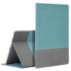 Coque Portefeuille Livre Cuir Etui Clapet L07 pour Huawei MediaPad M6 10.8 Cyan