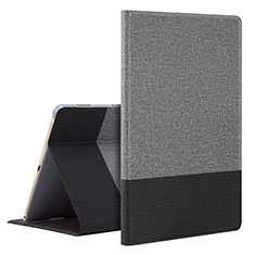 Coque Portefeuille Livre Cuir Etui Clapet L07 pour Huawei MediaPad M6 10.8 Gris