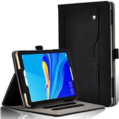 Coque Portefeuille Livre Cuir Etui Clapet L07 pour Huawei MediaPad M6 8.4 Noir
