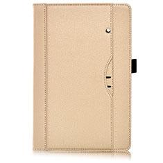Coque Portefeuille Livre Cuir Etui Clapet L07 pour Huawei MediaPad M6 8.4 Or