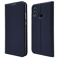 Coque Portefeuille Livre Cuir Etui Clapet L07 pour Huawei P Smart (2019) Bleu