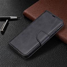 Coque Portefeuille Livre Cuir Etui Clapet L07 pour Huawei P Smart (2020) Noir